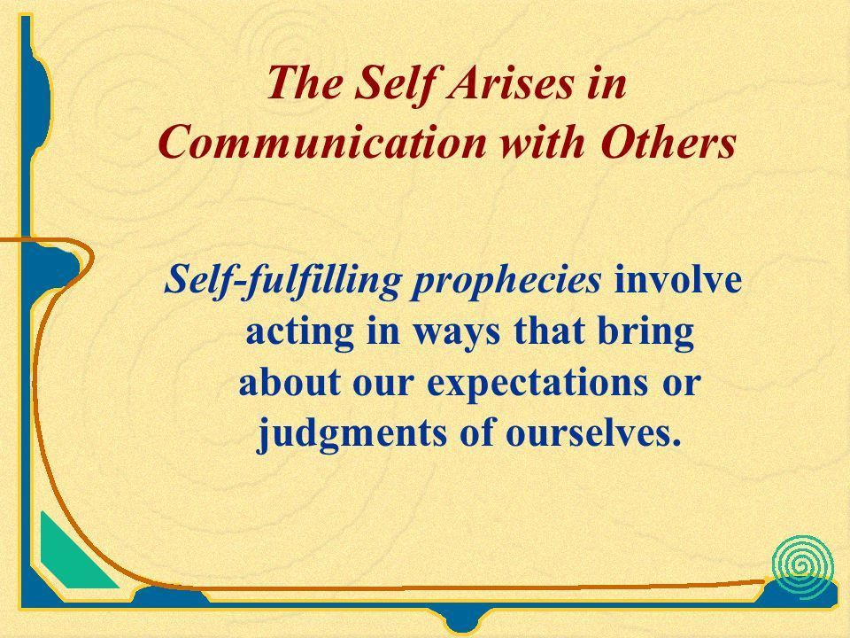 The Self Arises in Communication with Others - ppt video online ...