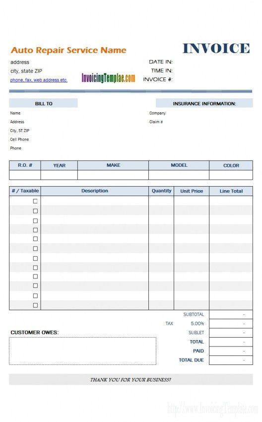 Sample Hourly Invoice | Design Invoice Template