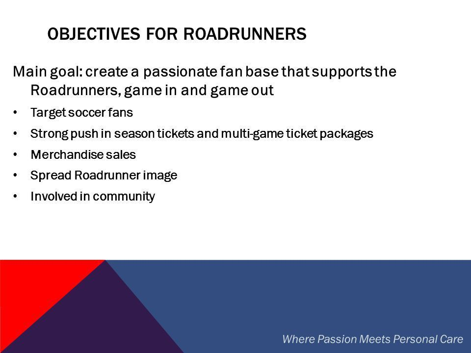 Phoenix Roadrunners Sponsorship Proposal - ppt video online download