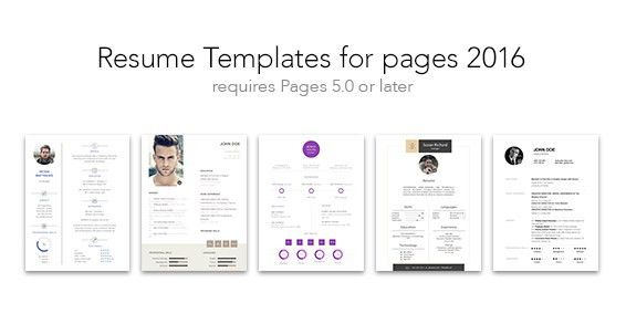 Resume Templates for Pages « Mac App Deals & Mac App Store ...