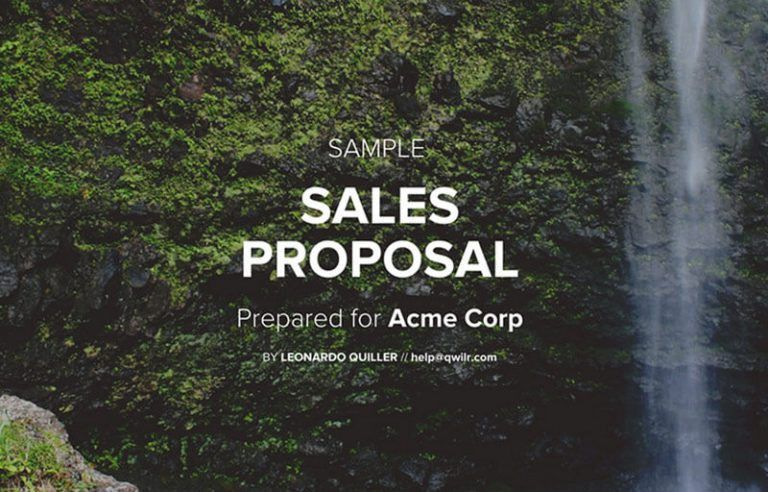 Complete Guide to Business Proposals - Qwilr