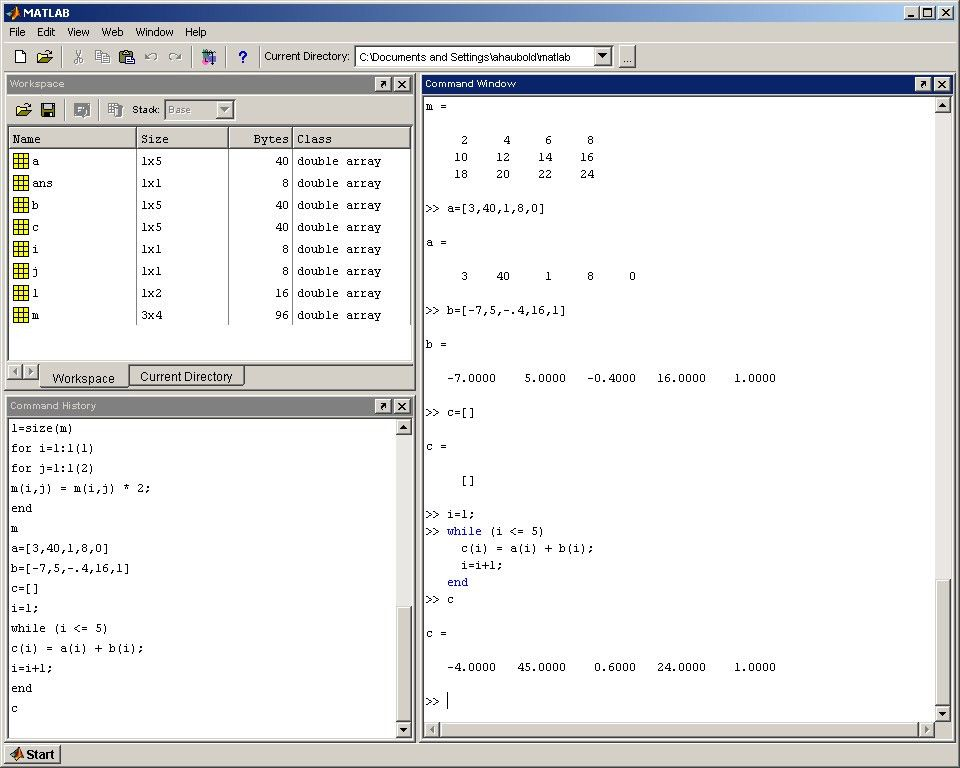 Matlab Lecture 3