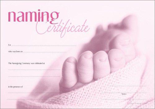 Designer Certificates