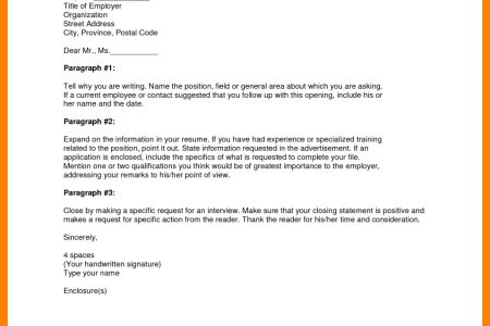 how to write a cover letter for a job