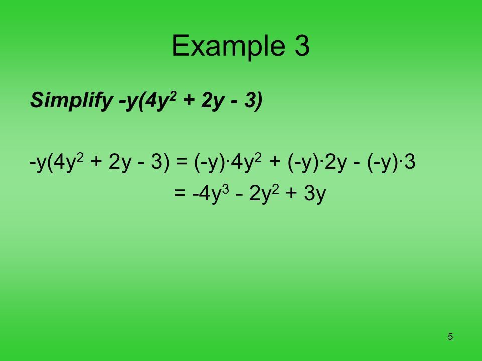 1 Chapter 5, Section 2 Polynomials. 2 A polynomial is a monomial ...