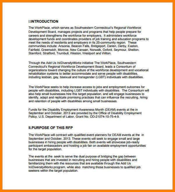 4+ event planning proposal sample   resume language