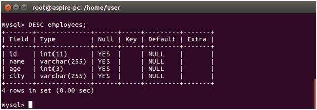 Node.js MySQL Create Connection - javaTpoint