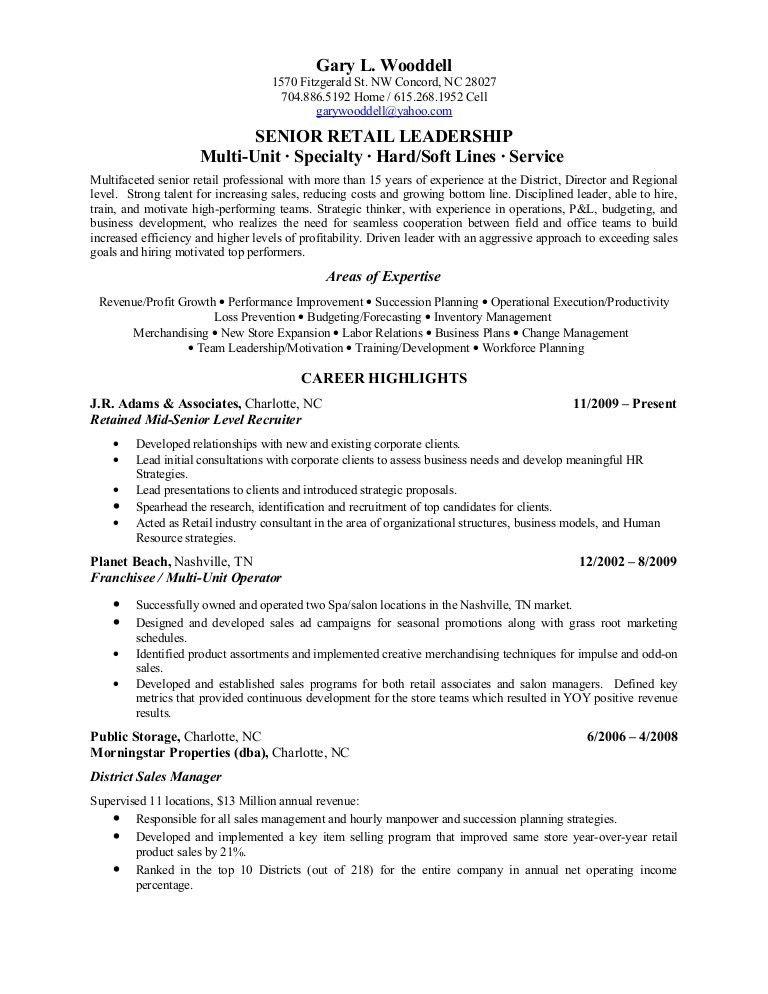Salon Manager Resume 4 Salon - uxhandy.com