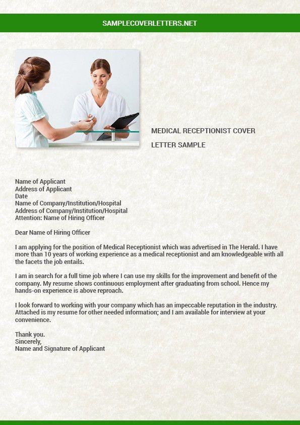 cover letter medical receptionist uk receptionist cover letter ...