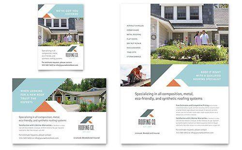Construction Print Ads   Templates & Designs