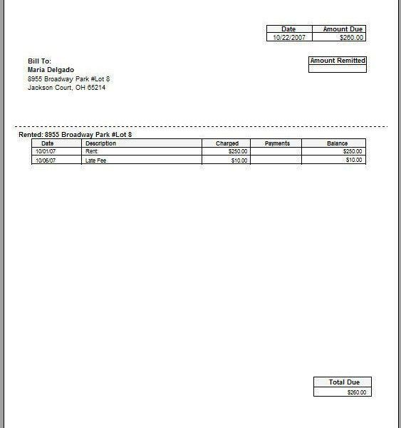 Download Invoice Template Late Payment | rabitah.net
