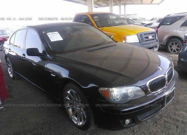 WBAKC8C54ACY68473, Bill Of Sale silver Bmw 750 at TUKWILA, WA on ...