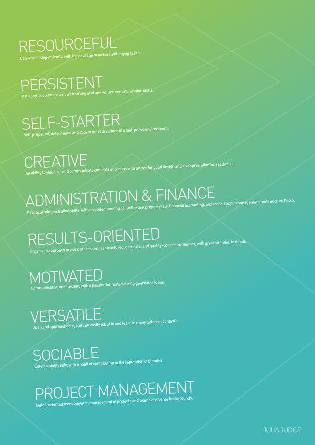 designed by Pete Lacey | design elements: résumé inspiration ...