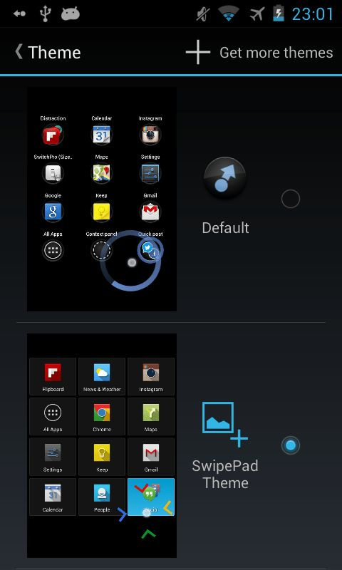 SwipePad Theme Example - Android Apps on Google Play