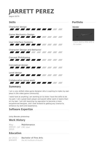 Maintenance Resume samples - VisualCV resume samples database