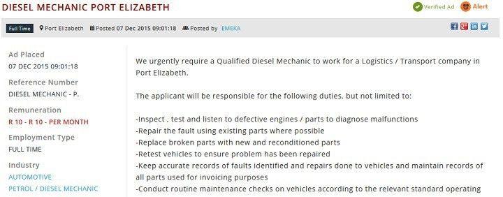 Battle of the mechanics: Petrol Mechanic vs Diesel Mechanic | Job ...