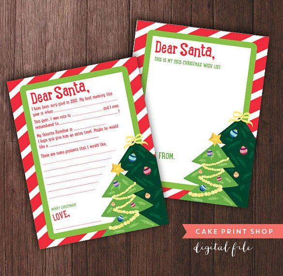 Christmas Letter Template – 9+ Free Word, PDF Documents Download ...