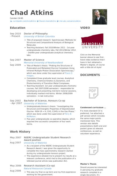 Undergraduate Student Resume Sample 1 Resume Template For ...