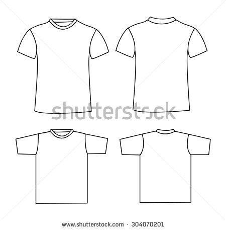 Free Raglan T-shirt Template Vector - Download Free Vector Art ...