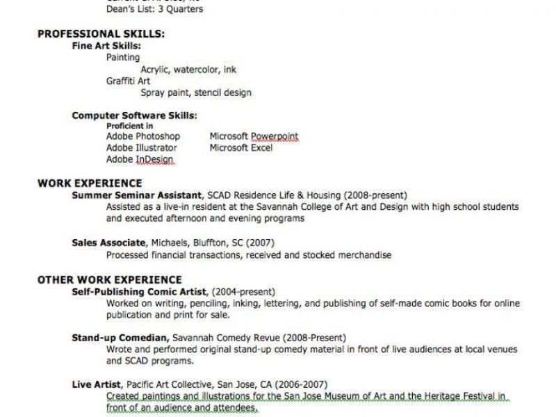 Beautifully Idea How To Write Your First Resume 11 My First Resume ...