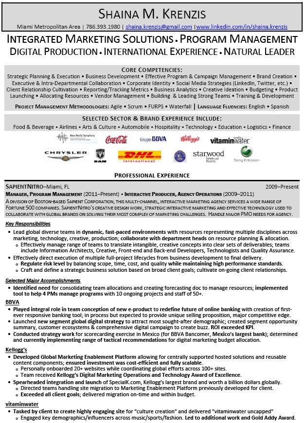 Digital Marketing Resume Example | EssayMafia.com