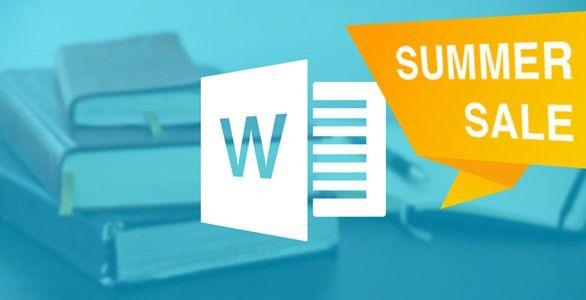 Skillsology | *SUMMER SALE* Microsoft Word