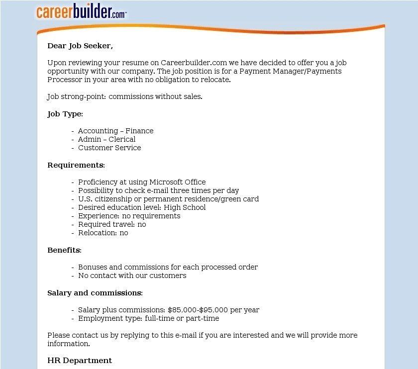 Career Builder Resume | whitneyport-daily.com