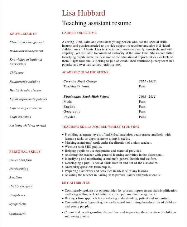 40+ Modern Teacher Resumes | Free & Premium Templates
