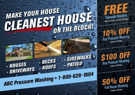 5 Brilliant Window Washing & Pressure Cleaning Direct Mail ...