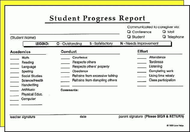 8 Progress Report Templates - Excel PDF Formats