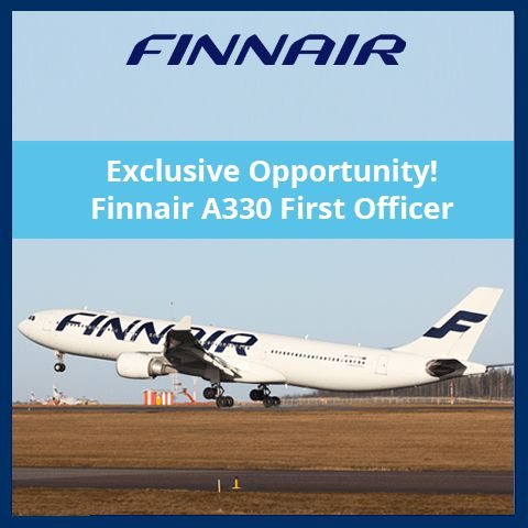 Finnair A330 First Officer Pilot Jobs - Rishworth Aviation