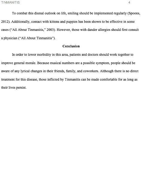 APA Example Paper - University Writing Center - Northern Illinois ...