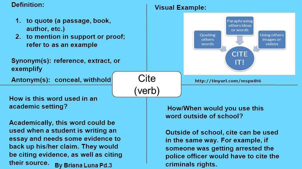 Unit 1 Academic Vocabulary AnalyzeInferenceProficientPublish ...