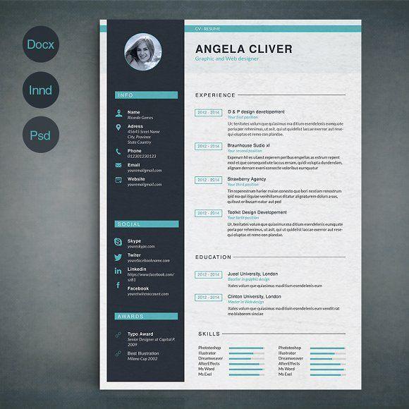 12 best Creative CV images on Pinterest | Creative cv, Creative ...