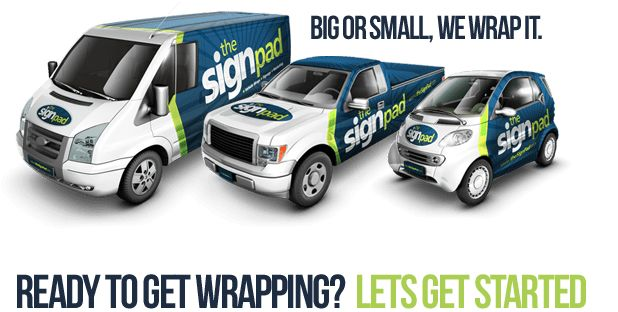 Vehicle Wraps & Vehicle graphics experts in Victoria BC   The Sign Pad