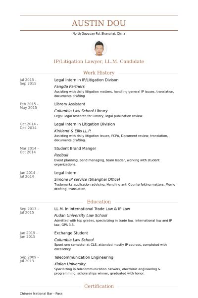law school resume template law school resume template attorney