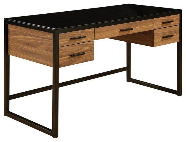 OSP Designs Eldridge Computer Desk - Industrial - Desks And ...