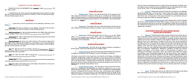 Agreement Templates – Printable Documents