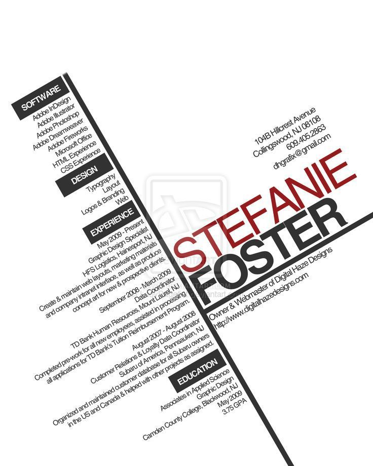 108 best cv images on Pinterest | Resume ideas, Cv design and ...