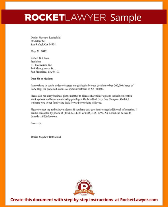 professional business letter template - Template