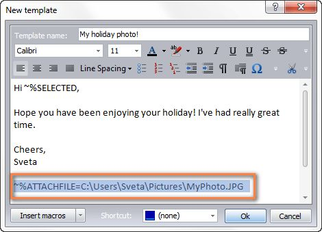 Create email templates in Outlook 2016, 2013 for new messages ...