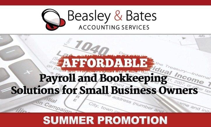 Beasley & Bates Accounting Services Payroll Flyer | 123 Target ...