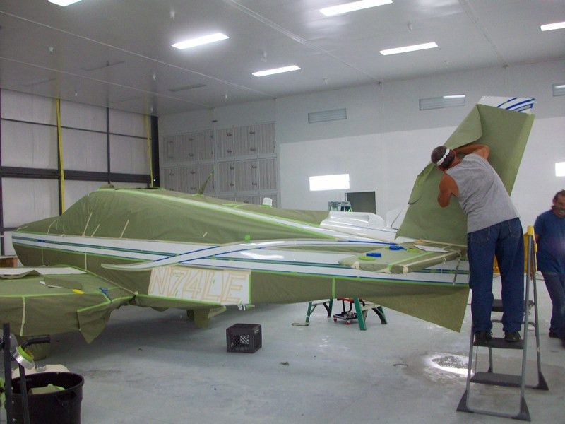 Refinishing Aircraft Paint [Archive] - EAA Forums