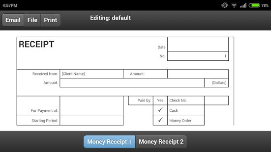 Money Receipt - Android Apps on Google Play