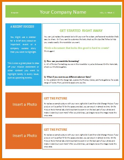 Microsoft Word Newsletter Templates.Newsletter Template 1.png ...