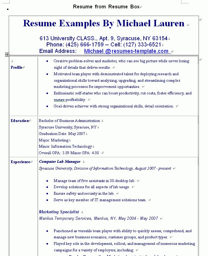 warm college resume templates 10 good example student. good ...