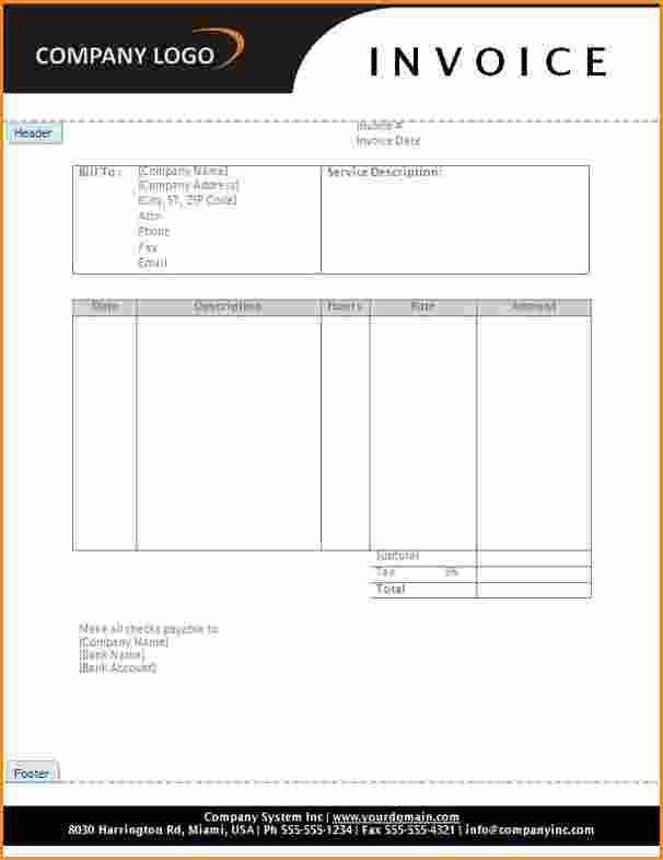 12+ service invoice template | Invoice Template Download