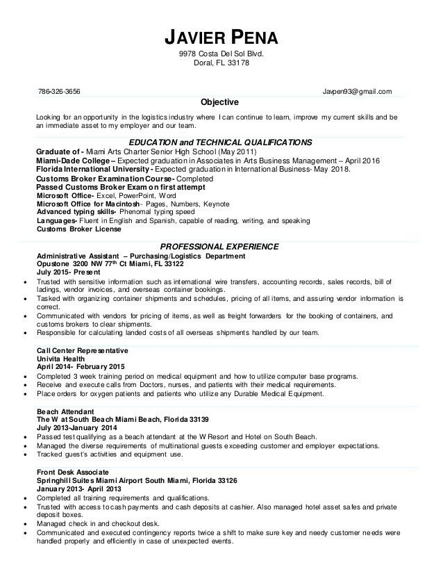 Message Broker Sample Resume broker sample resumes - shalomhouse