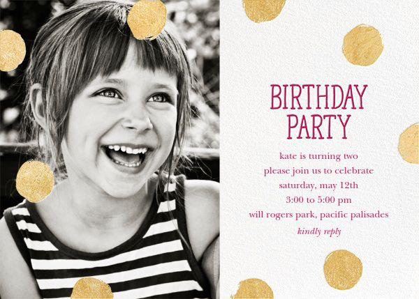 Birthday invitations, birthday invitation cards and invites ...