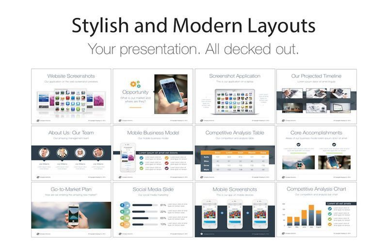 Pitch Deck Templates for Keynote on the Mac App Store